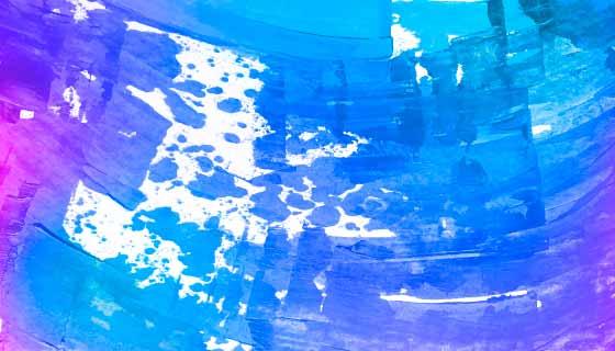 抽象蓝色水彩背景矢量素材(EPS)