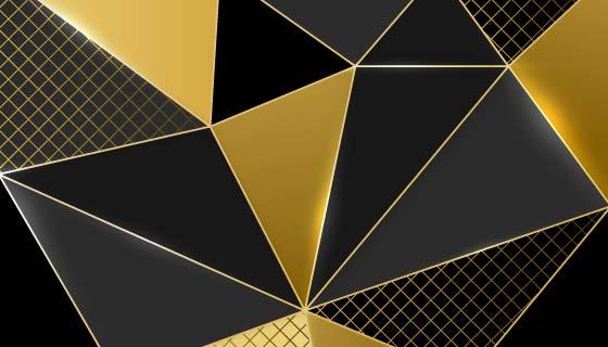 奢华的金色背景矢量素材(AI/EPS)