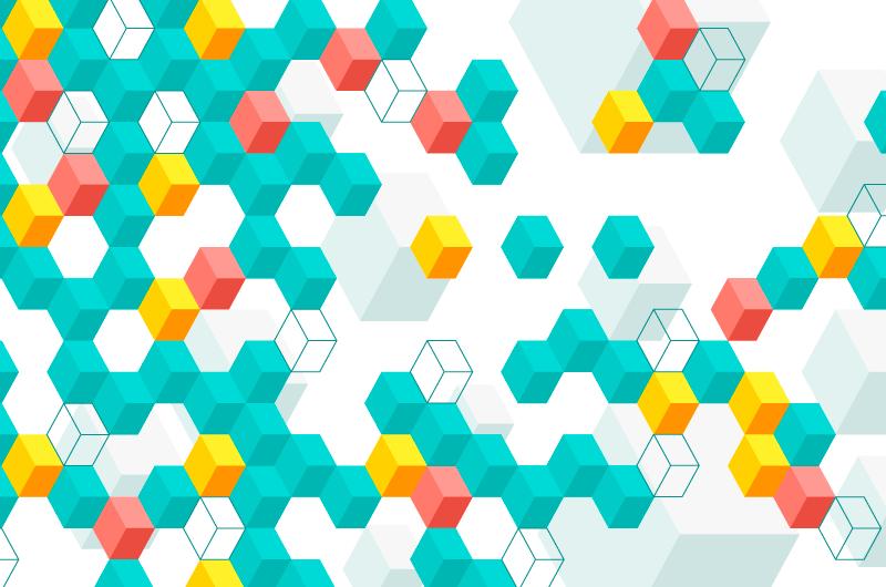 抽象多彩多边形背景矢量素材(AI/EPS)