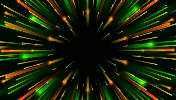 五彩光线背景矢量素材(AI/EPS)
