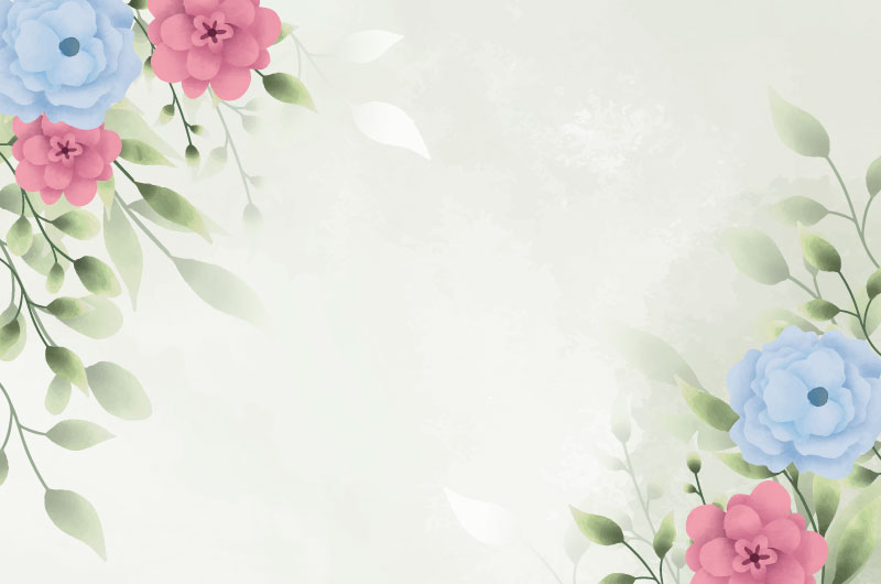 漂亮的花卉背景矢量素材(EPS)