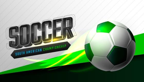 足球比赛banner矢量素材(EPS)