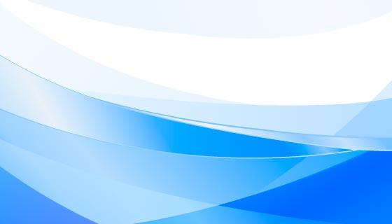 蓝色渐变波浪背景矢量素材(EPS)