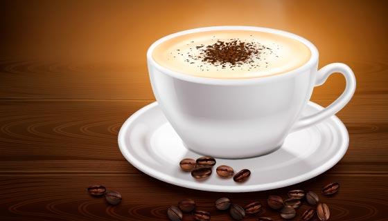 香气扑鼻的咖啡矢量素材(EPS)