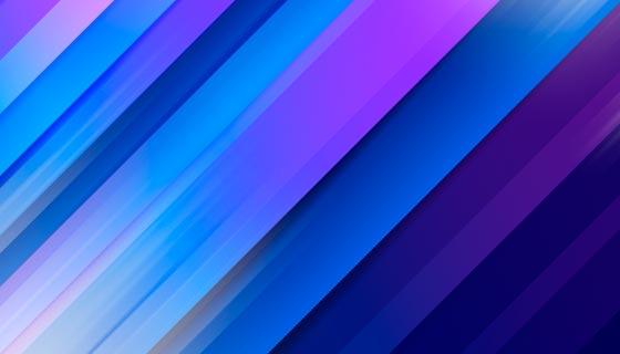 蓝色渐变光线背景矢量素材(AI/EPS)