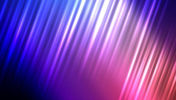 抽象多彩光线背景矢量素材(EPS)